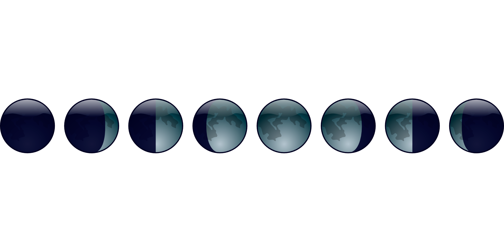las fases de la luna y las plantas
