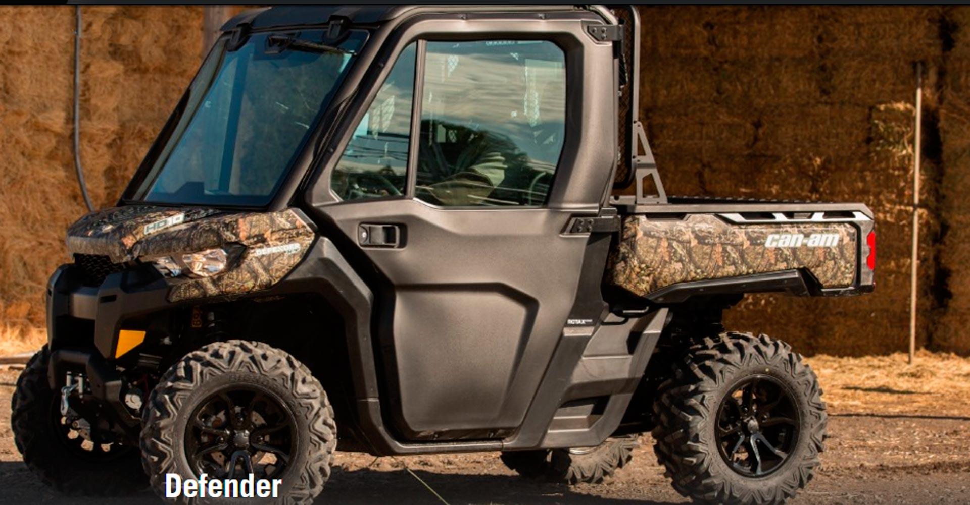 el nuevo can Am defender Vehículo Agrícola