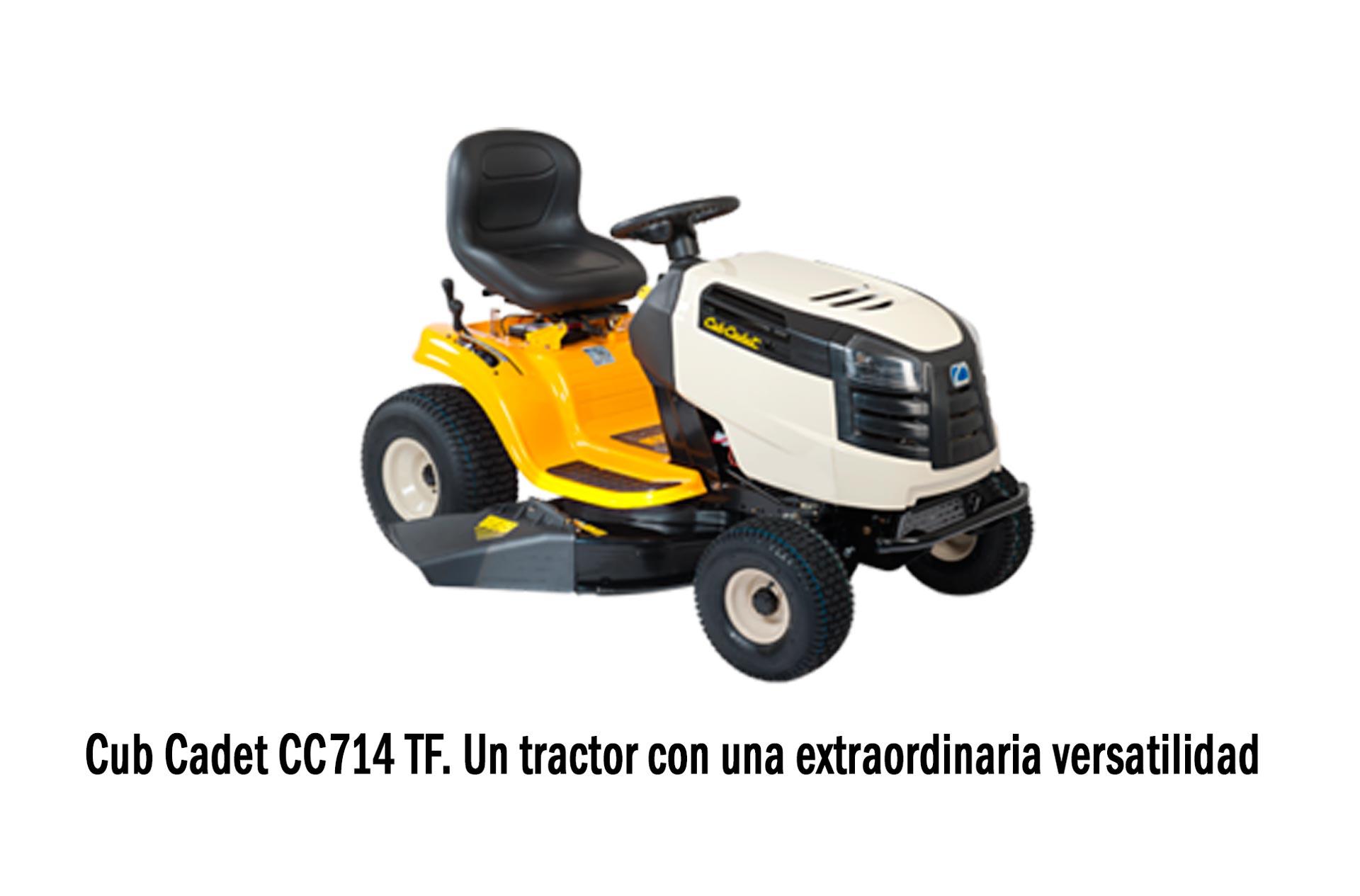 Cub Cadet CC714 TF Un tractor con una extraordinaria versatilidad
