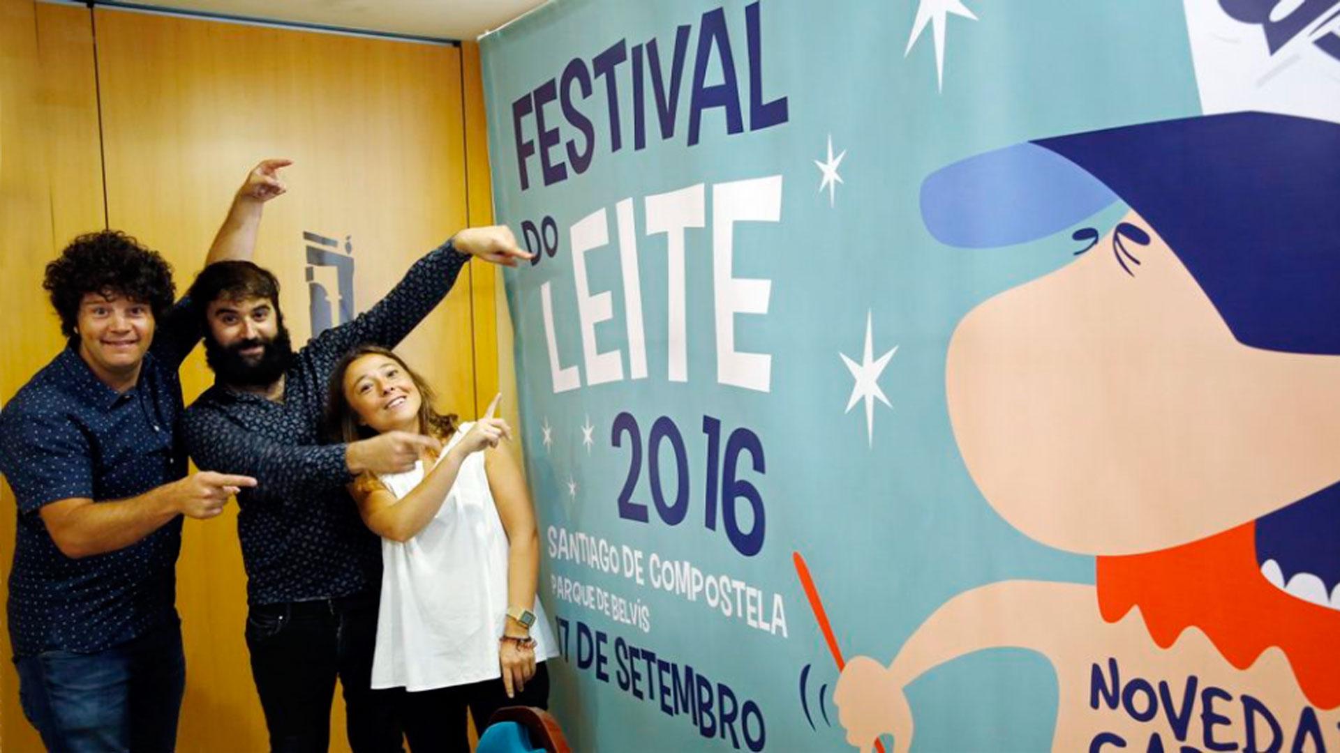 primer festival do leite Santiago de Compostela