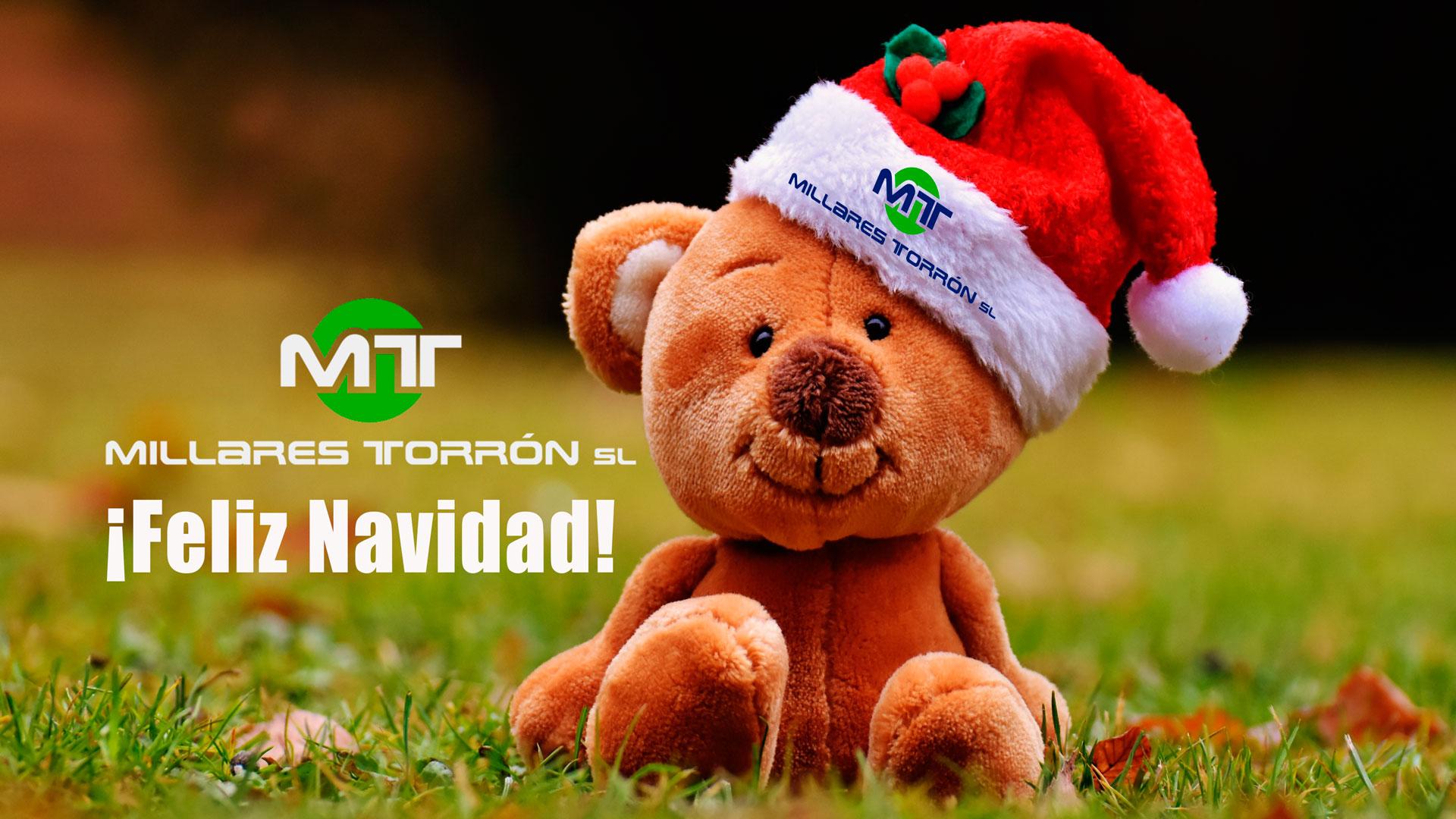 felicitación millares torron Navidad