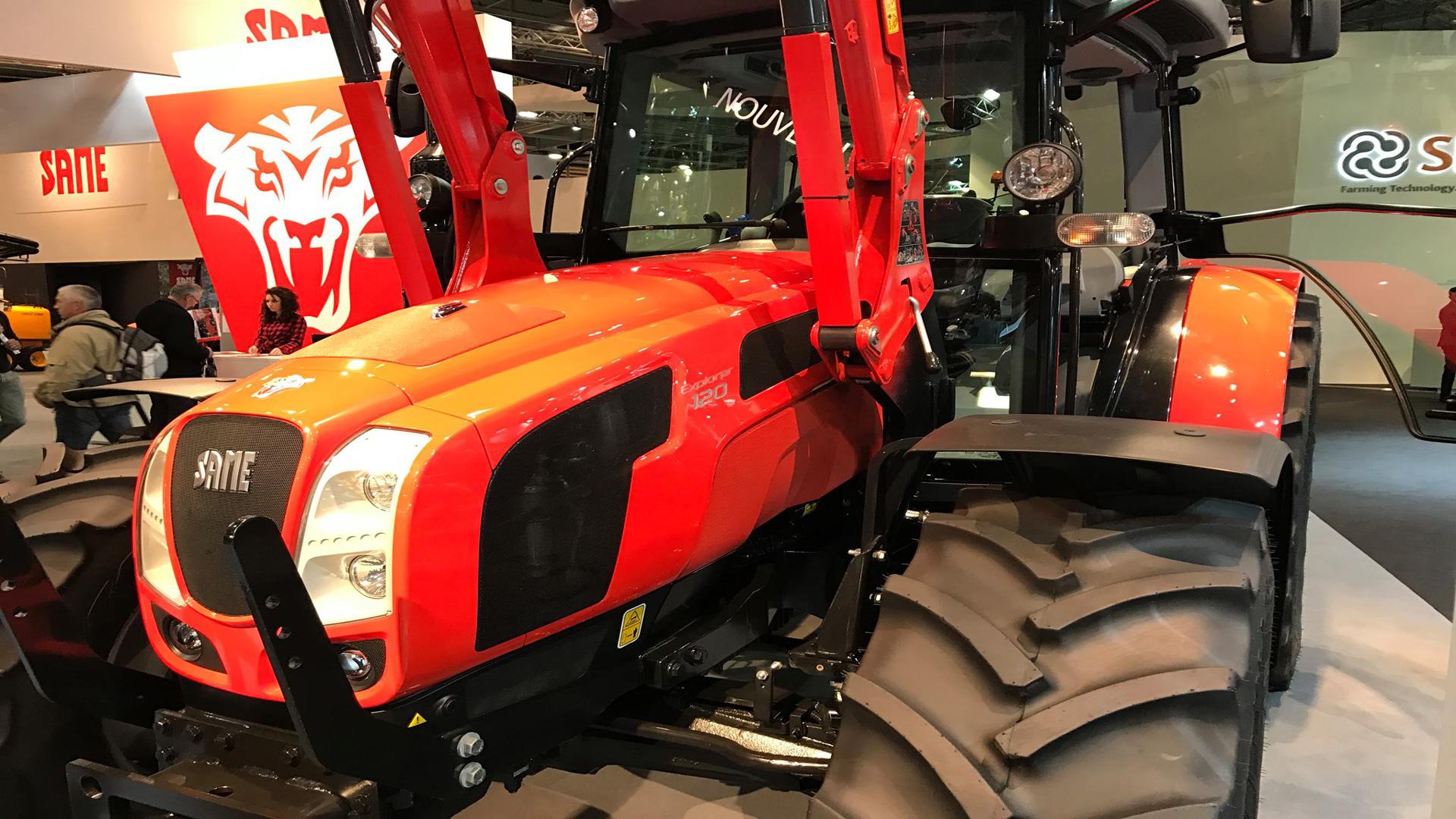 SIMA Paris Feria de agricultura y maquinaria agrícola