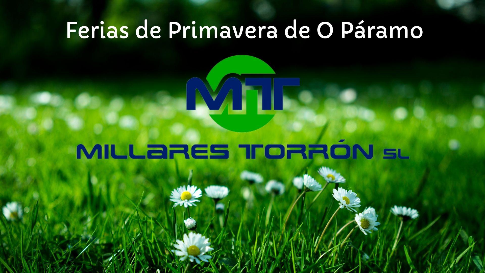 Millares Torrón estará en las Ferias de Primavera de O Paramo del 7 al 9 de junio 2.1920